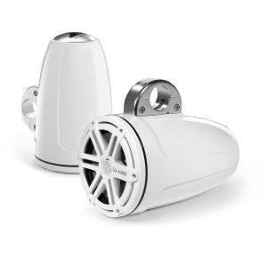 JL Audio Wakeboard Tower Speakers - White