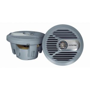 Alpine 7'' Coaxial Marine Speakers - 150W